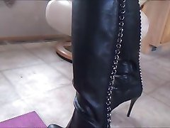 Panties, Leather, Dildo