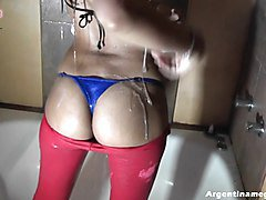 Amateur, Ass, Shower