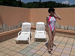 Crossdresser, Swimsuit, Dress