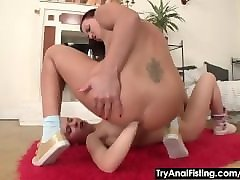 Anal, Double Anal, Lesbian