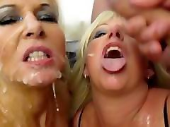 Blonde, British, Bukkake