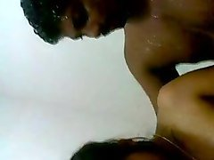 Indian, Couple, Shower