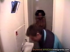 African, Teen, Caught
