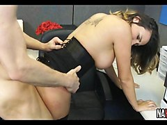 Anal, Blonde, Office