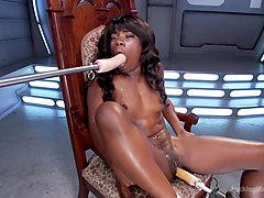 Ebony, Ass, Squirt