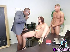 Black, Milf, Threesome